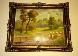 Neogrády László (1896-1962) Eredeti festménye