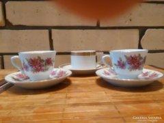 Porcelán kávéscsészék