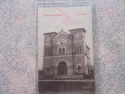 Bácsföldvár,Backo Gradiste,1914. Zsinagoga R!