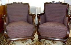 Míves fotelek a XIX. századból