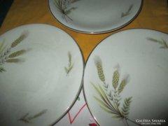 1241 3 db Antik Edelstein Bavaria porcelán süteményes tányér