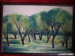 Barta Mária ( 1897 - 1989 ): Tavasz a ligetben (1920) - art deco