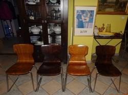 4  DB Flötotto design szék retro, loft kedvelőknek