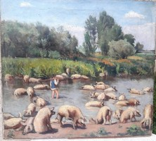 Kohner Ida  Festménye a 10-es 20-as évekből