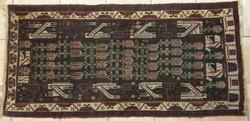 Antik szőnyeg, ritka mintával