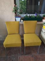 Csővázas szék az 50-es évekből, két darab