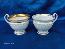 2.db antik MEISSENI teás csésze