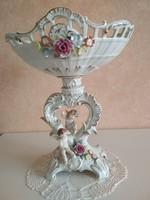 Türingiai porcelán kínáló nagy méret