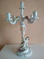 5 águ gyertyatartó angyalokkal