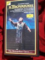 Verdi: A trubadúr  Az opera teljes felvétele VHS