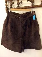 Velúr rövidnadrág a 80-as évekből