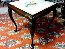 Kerámia képes asztal