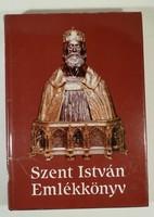 Szent István emlékkönyv,olcsón