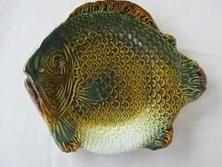 Gránit kerámia hal tál halas nagy lapos tányér