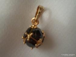 Ónix gold-filled medál lánccal