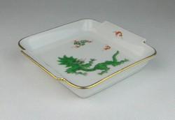 0R094 Régi sárkányos Meisseni porcelán tálka