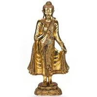 Aranyozott Buddha szobor – 96cm