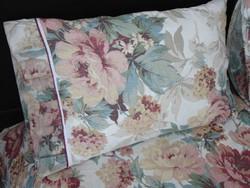Pünkösdi rózsa csokros ágynemű garnitúra