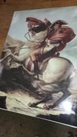 NAPOLEON LOVON: Jacques-Louis David FESTMÉNY PORCELÁN KÉP, LUXUS AJÁNDÉK