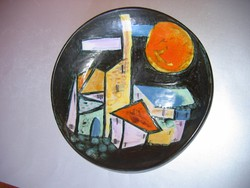Szép retro falitál (29 cm)