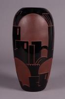 Schreiber & Neffen Art Deco váza