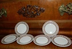 """Hotel Doulton Steelite süteményes tányér készlet - angol minőségi """"hotel"""" tányérok"""