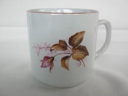 Zsolnay porcelán rózsás bögre