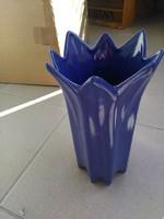Lilás-kékes nagy váza