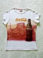 Minőségi retro eredeti USA Coca-Cola női póló,  38-40-es