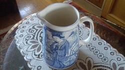 Nagy méretű angol porcelán kancsó ritkaság 2.5 literes!!