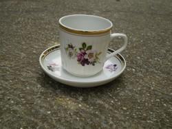 Hollóházi mokkás csésze + alátét