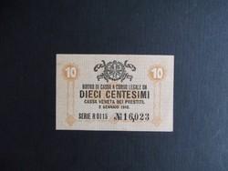 Olaszország - 10 centesimi 1918 (Velence)