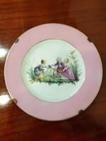 Régi Carlsbad porcelán falitányér