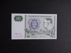 Svédország - 10 korona 1989