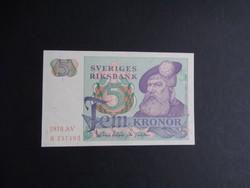 Svédország - 5 korona 1978