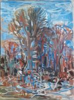 Bizse János festmény eladó