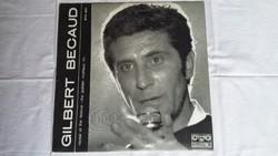 Gilbert Becaud bakelit lemez / hanglemez: 1971. Bulgáriai Arany Orfeusz Fesztivál