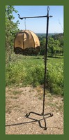 Kovácsoltvas állólámpa 180cm