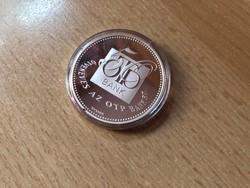 50 éves az OTP ezüst 31,1 gramm 0,999 PP