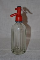 Tüneményes sok szögletű szódásüveg ( 2 dl )