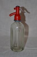 Tüneményes sok szögletű szódásüveg ( 2 dl )  ( DBZ 0037 )