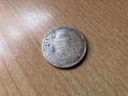 1876 ezüst 1 forint