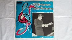 Mikis Theodorakis bakelit lemez / hanglemez a 70-es évekből Athénból