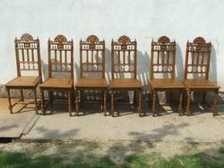 Régi szék hat darab