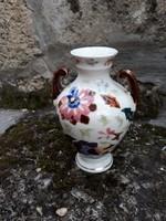 Antik kézzel festett Fischer ? váza