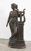 Erató Istennő bronz szobra