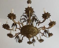 Nagyon régi Barokk díszes csillár.