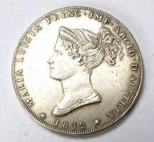 5 LIRA 1832 másolat.