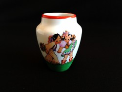 Zsolnay kis váza