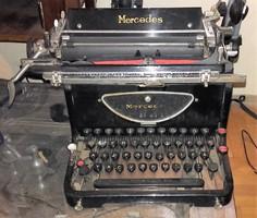 Antik Mercedes írógép